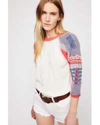 Free People - We The Free Bright Star Tee - Lyst