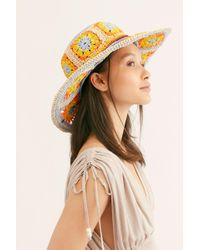 Free People - Summer Of Love Straw Hat - Lyst