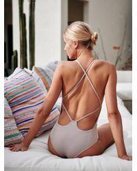 Free People - Farrah One-piece Swimsuit - Lyst