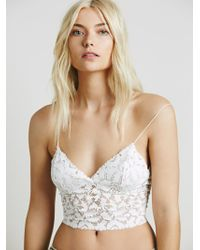 Free People - Lacey Lace Brami - Lyst