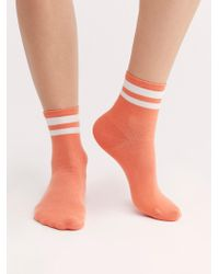 Free People - Tailored Union Jouer Stripe Socks - Lyst