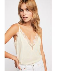 Free People - Lost Dreams Silk Cami By Intimately - Lyst