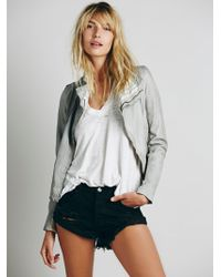 Free People - One Teaspoon Womens Bandit Denim Cutoffs - Lyst