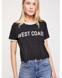 Free People - Coast Tee - Lyst