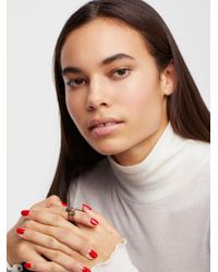 Free People - Raw Stone Ring - Lyst