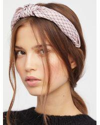 Free People - Nothing But Net Headband - Lyst