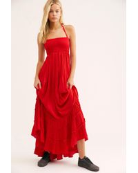 4a4f6003976 Free People Extratropical Dress in White - Lyst