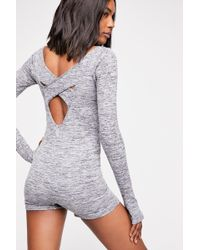 Free People - Somerset Onesie By Fp Movement - Lyst