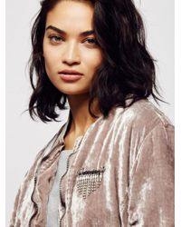 Free People - Falling Crystals Safety Pin - Lyst
