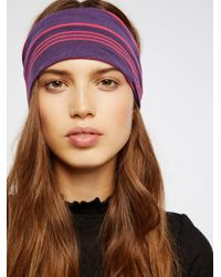 Free People - Striped Wideband - Lyst