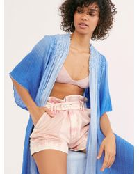 Free People - Fp One Angelica Dip Dye Kimono - Lyst
