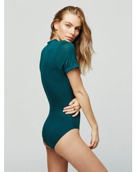 Free People - Oh Me Oh My Bodysuit - Lyst