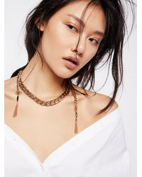 Free People - Revival Chain Collar - Lyst
