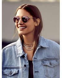 Free People - Ring Leader Metal Necklace - Lyst