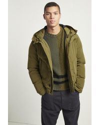 French Connection - Soft Nylon Quilted Jacket - Lyst