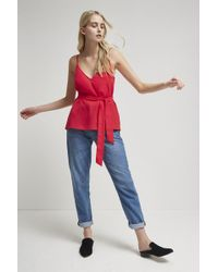 French Connection - Dalma Crepe Light Strappy Cami - Lyst
