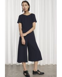 French Connection - Esther Crepe Jumpsuit - Lyst