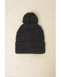 a641b4ea23e French Connection - Ayer Chunky Knit Beanie Hat - Lyst