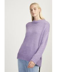 French Connection - Snuggle Knit Crew Neck Jumper - Lyst