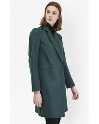 French Connection - Imperial Tailored Coat - Lyst