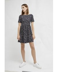 French Connection - Audrene Fit And Flare Dress - Lyst