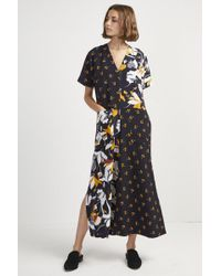 French Connection - Aventine Drape Jumpsuit - Lyst
