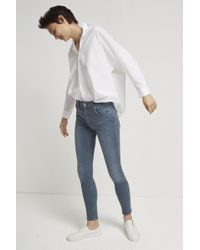 French Connection - Rebound Skinny Jeans - Lyst