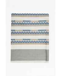 French Connection - Rhea Patterned Scarf - Lyst