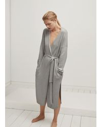 French Connection - Touch Of Cashmere Robe - Lyst