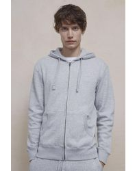 French Connection | Zip-up Hooded Sweatshirt | Lyst