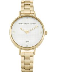 French Connection Gold Bracelet Watch