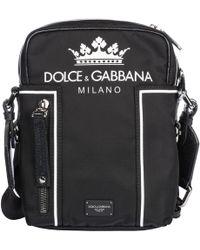 Dolce   Gabbana - Zaino In Nylon Con Logo - Lyst 1945132e8c