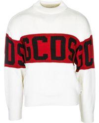 Gcds - Maglione maglia uomo girocollo - Lyst
