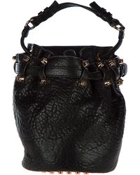 Alexander Wang - Leather Handbag Shopping Bag Purse - Lyst