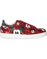 1ec702fd8c1 MOA - Shoes Leather Trainers Sneakers Disney Mickey Mouse - Lyst