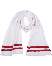 Bally - Wool Scarf Bone Knits - Lyst