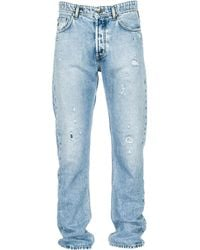 Versace Jeans - Jeans uomo regular fit - Lyst