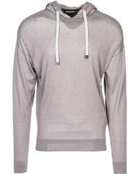 Emporio Armani - Maglione maglia uomo girocollo - Lyst