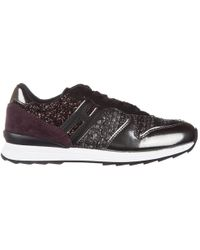Hogan Rebel - Girls Shoes Child Leather Trainers R261 Allacciato - Lyst