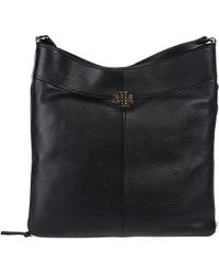 Tory Burch - Leather Shoulder Bag Ivy Hobo - Lyst