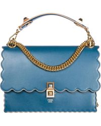 27b8d339d66b Lyst - Fendi Borsa By The Way Bauletto Piccolo Pelle in Red