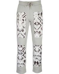 Versace Jeans - Sport Jumpsuit Trousers - Lyst