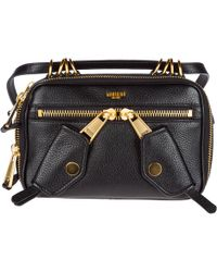 4aa7fd79bc1 Moschino Nylon Bucket Bag in Black - Lyst