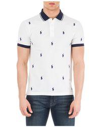 Ralph Lauren - All Over Print Polo Shirt - Lyst