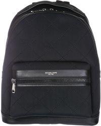 2d2b606dd8d1 Michael Kors Kent Houndstooth Nylon Backpack for Men - Lyst