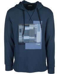 Emporio Armani - Hoodie Sweatshirt Sweat - Lyst