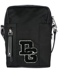 Dolce & Gabbana - Nylon Cross-body Messenger Shoulder Bag Patch Logo - Lyst