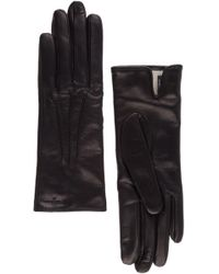 Ferragamo - Leather Gloves - Lyst