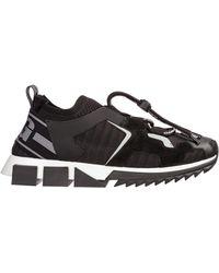 Dolce & Gabbana - Sorrento Mix-material Trekking Sneakers - Lyst