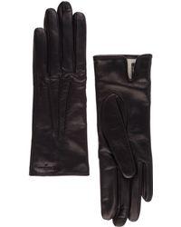 Ferragamo - Leather Gloves - Lyst